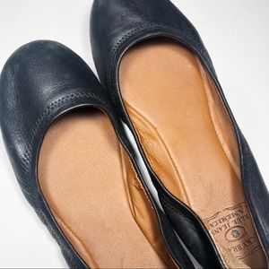 Lucky Brand | Black Leather Flats | 7M (37)